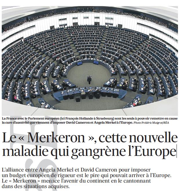 Le « Merkeron », cette nouvelle maladie qui gangrène l'Europe