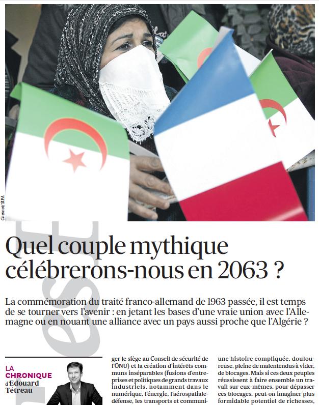 Quel couple mythique célébrerons-nous en 2063 ?