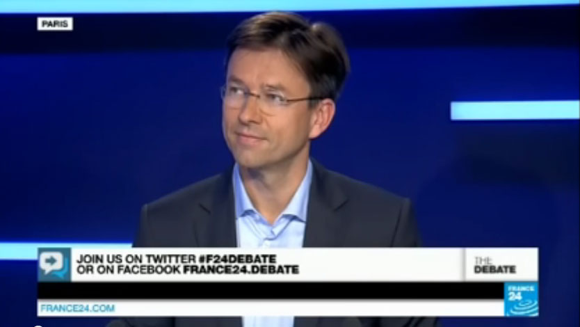 THE DEBATE – France24 – Edouard Tetreau – Part 1: Europe's Plan for Putin