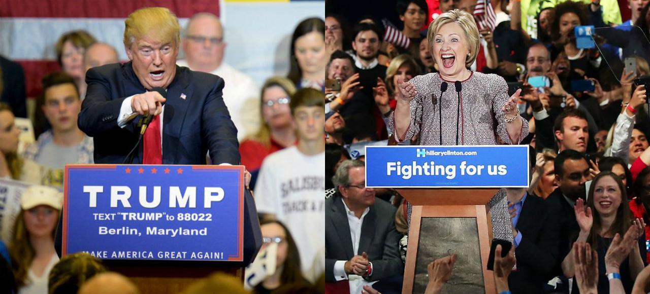 Donald Trump contre Hillary Clinton : le choc des programmes que tout oppose – Le Figaro 21/04/2016
