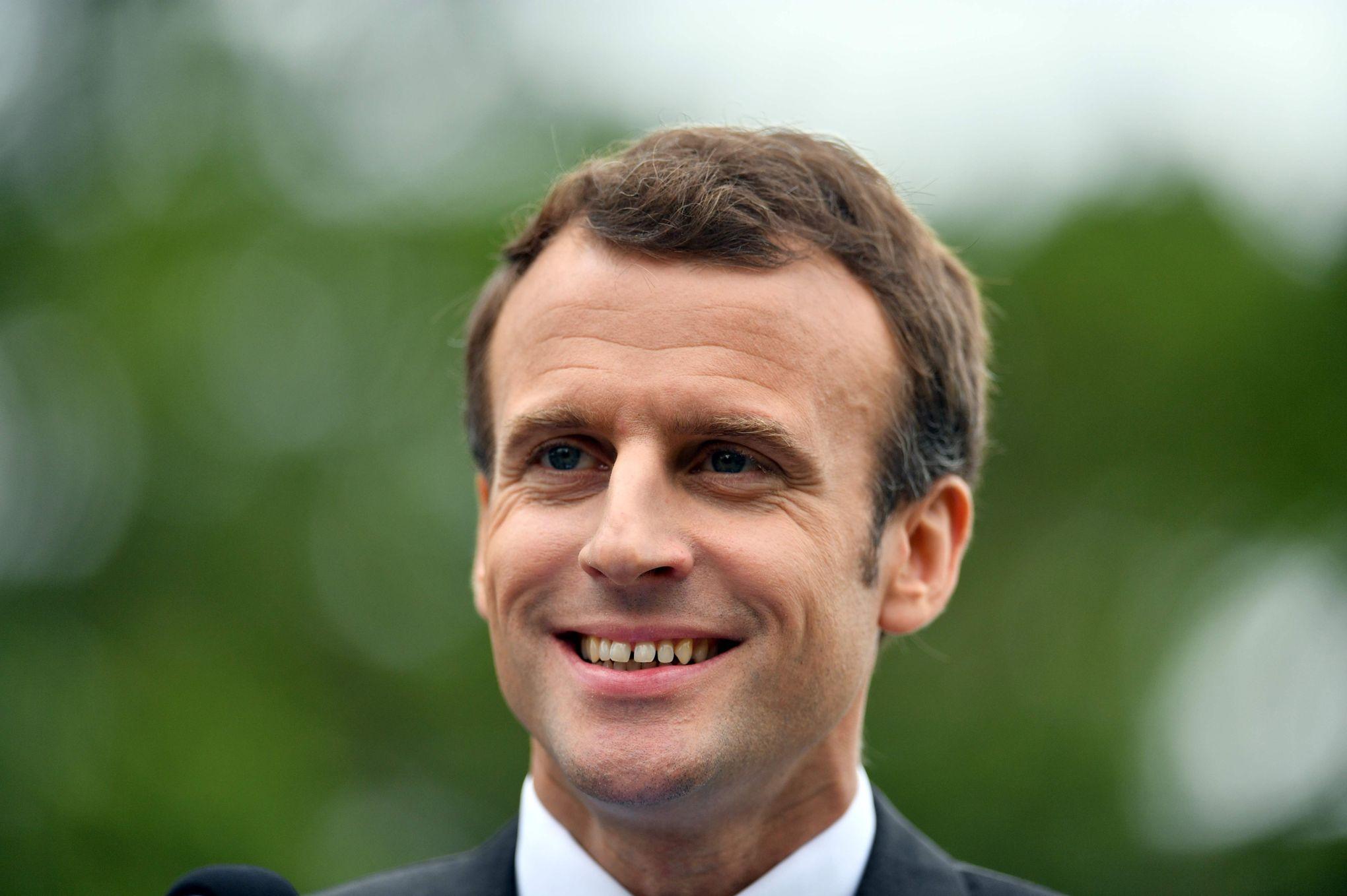 """""""Emmanuel Macron ou la politique de la main tendue"""" – Le Figaro 15/05/2018"""